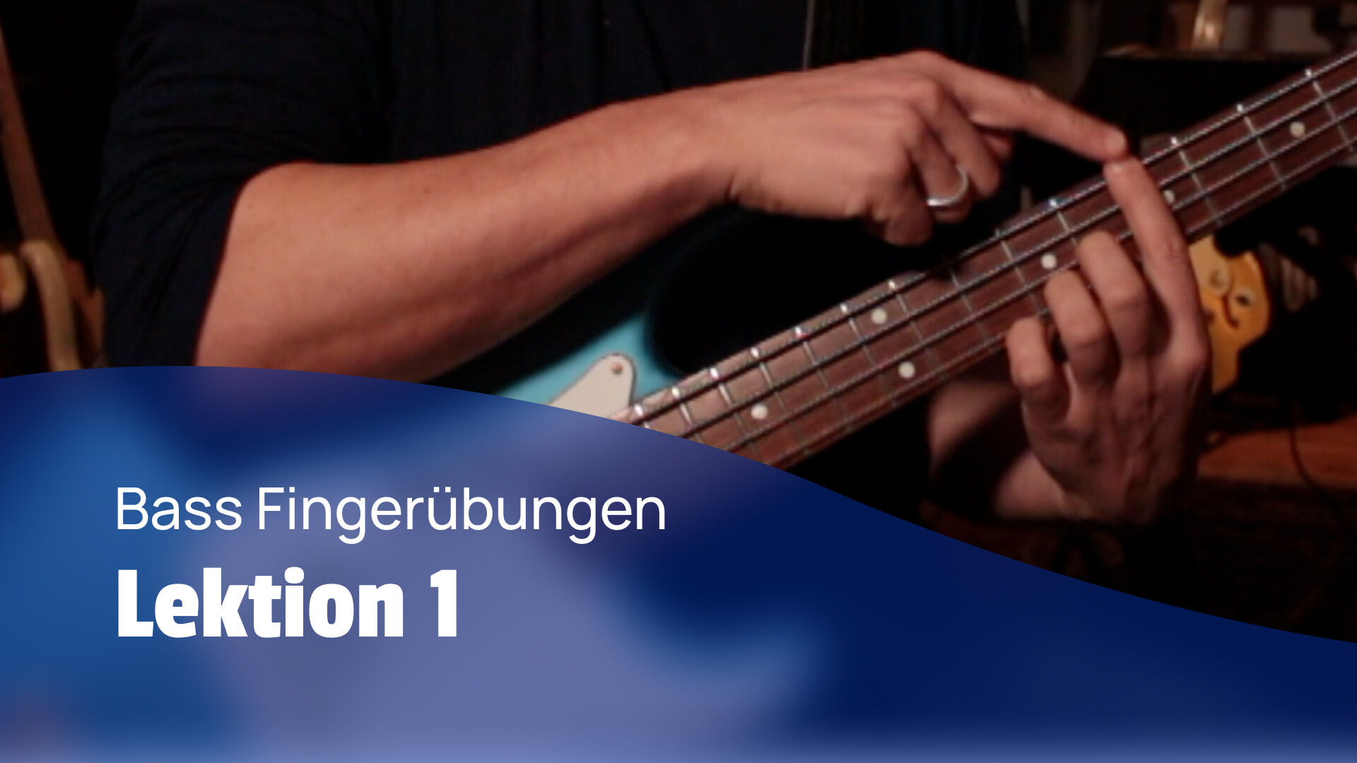 3 knackige Bass Fingerübungen YouTube Video
