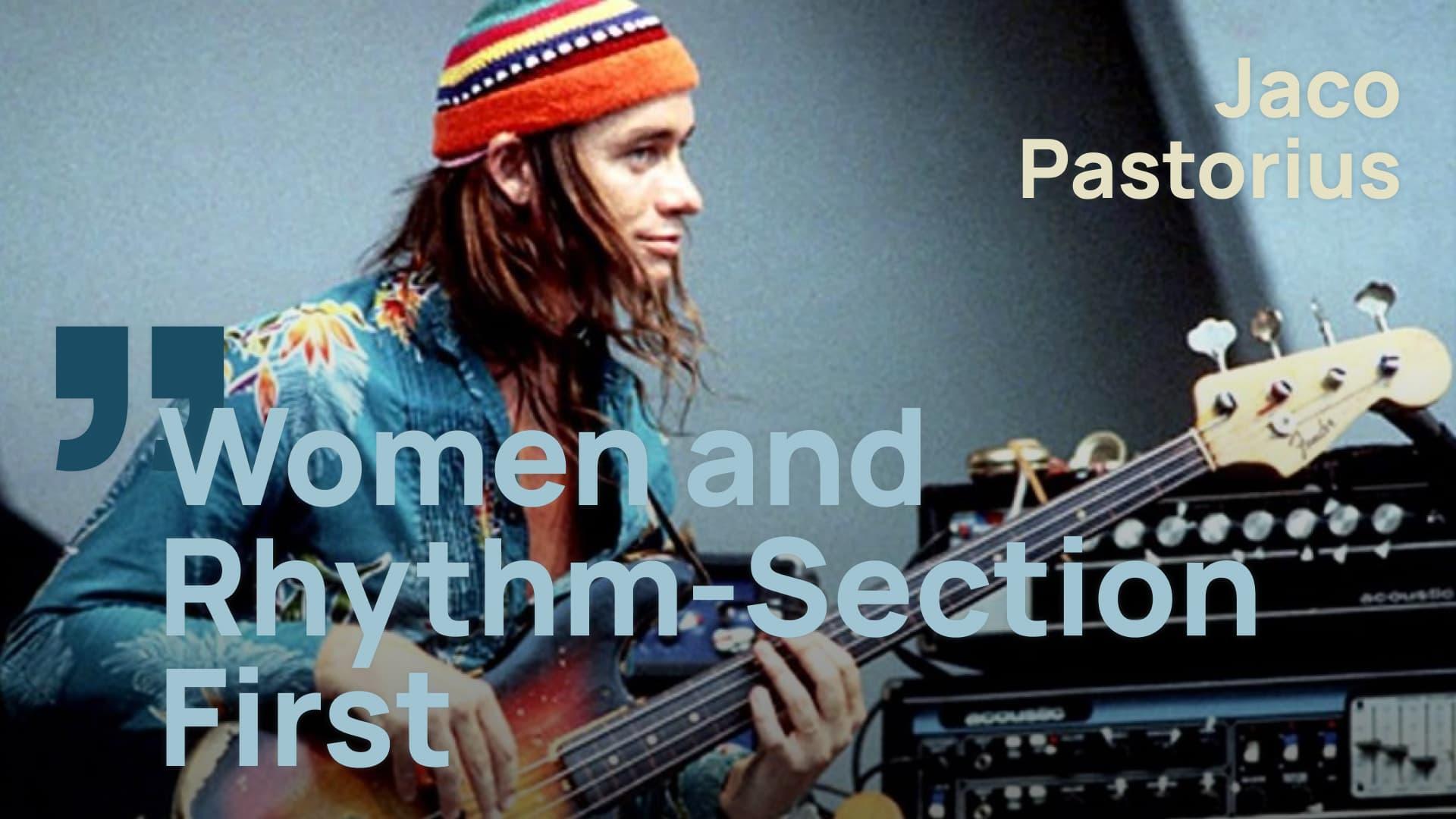 Jaco Pastorius - Bass und Schlagzeug